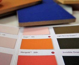 Choosing the right colour for your bespoke furniture is key to my process