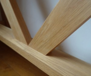 Hand crafted structural detail in a piece of furniture can speak volumes in your living space